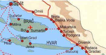 fähre hvar kroatien